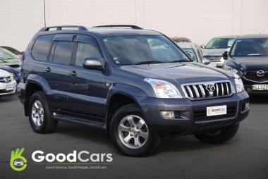 2007 Toyota LANDCRUISER PRADO TZ G Selection