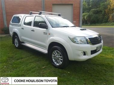 2013 Toyota Hilux 4WD DOUBLE CAB 4x4