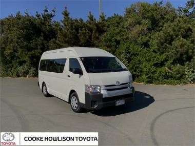 2016 Toyota Hiace MINIBUS RWD 3.0TD VAN/4 4A - 12S