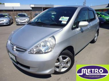 2006 Honda Fit 1.5A manual