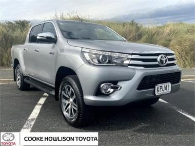 2017 Toyota Hilux 4WD SR5 LIMITED 2.8DT DOUBLE CAB