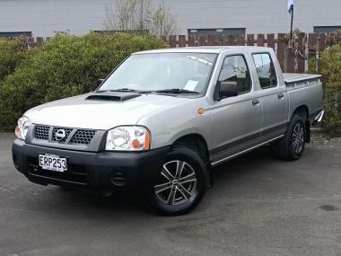 2008 Nissan Navara 2WD D/C C/C 2.5D ABS D/C ABS