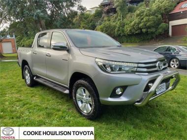 2016 Toyota Hilux 4WD SR5 2.8DT DOUBLE CAB UTE