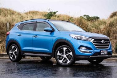 2016 Hyundai Tucson 1.6T DCT Elite LTD