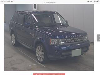 2010 LANDROVER Range Rover supercharged 5.0L