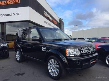2013 LandRover Discovery 4 5.0 V8 HSE 7 Seater