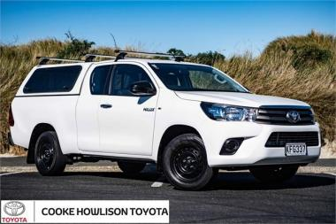 2016 Toyota Hilux 2WD S 2.8DT EXTRA CAB UTE