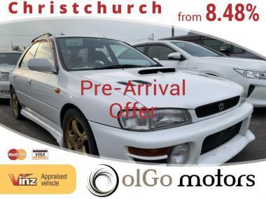 1997 Subaru Impreza 2.0 WRX *Manual* Due Late NOV