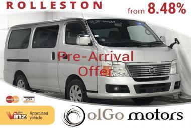 2008 Nissan Caravan 2.5 8seats Due Early DEC