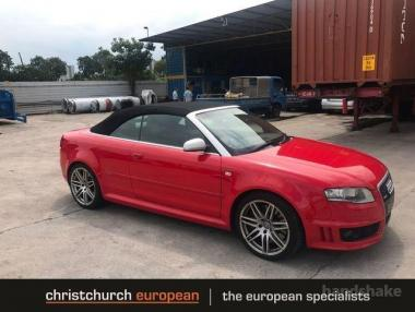2009 Audi RS4 4.2 V8 6 Speed Manual Convertible
