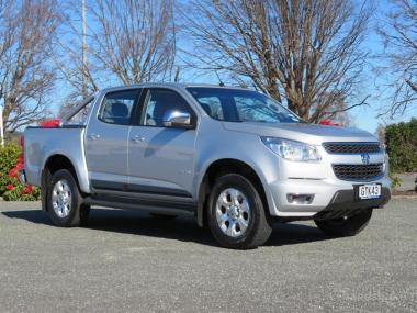 2013 Holden Colorado LTZ D/Cab 2WD