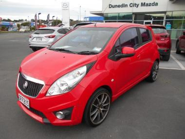 2012 Holden Barina CDX Spark Manual