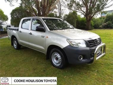 2013 Toyota Hilux 2WD 2.7P D/C Ute 5M
