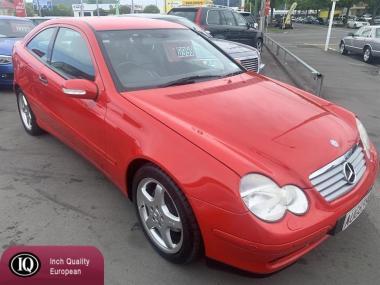 2002 MercedesBenz C 1.8P5SPA2DRCOUPE