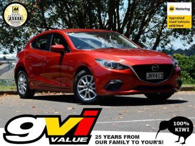 2015 Mazda 3 GLX Hatchbach * NZ New * No Deposit F