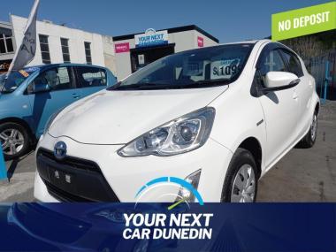 2015 Toyota Aqua Hybrid No Deposit Finance