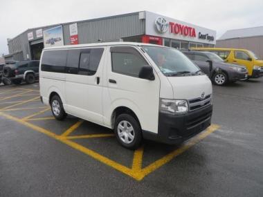 2012 Toyota Hiace Regius Ace 3.0 Diesel  5 Dr Van