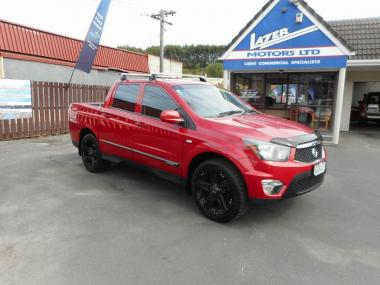 2013 Ssangyong Actyon Sport 2WD MAN D Workmate 2 W