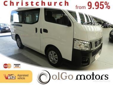 2012 Nissan Caravan NV350 2.0 DX *Low KMs*