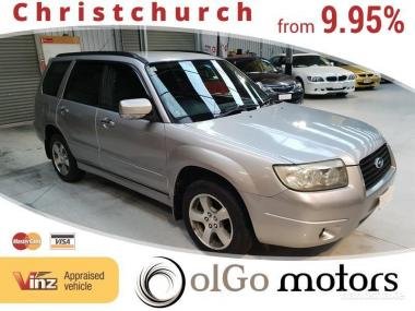 2005 Subaru Forester 2.0 XS 4WD *Low KMs*