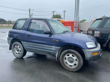 1995 Toyota RAV4 J BLUE with Grey Station Wagon