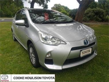 2014 Toyota Aqua 1.5 Petrol S 5