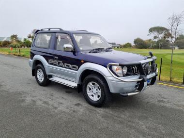 1996 Toyota Land Cruiser Prado 3.0TD RZ SWB