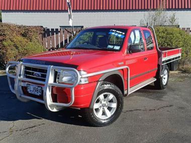 2004 Ford Courier XL 2.5TD C/C 4X4 HC XL TD C/C HC