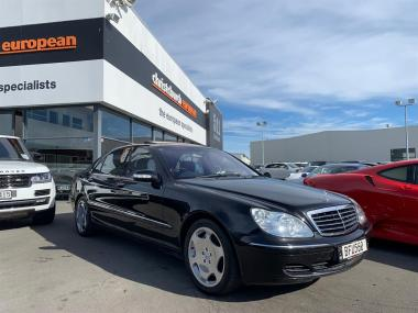 2003 MercedesBenz S600 5.5 V12 Bi-Turbo