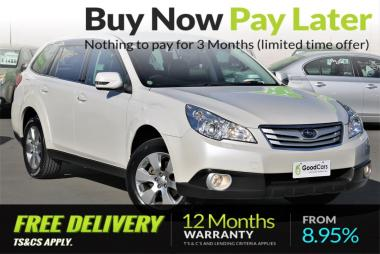 2011 Subaru OUTBACK 2.5i Eyesight Si Drive 4WD