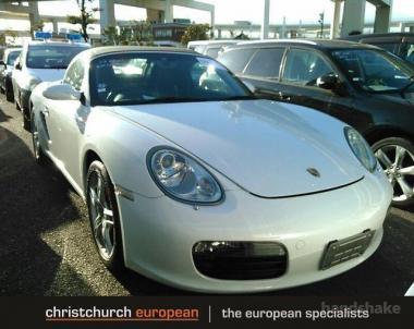 2006 Porsche Boxster 987 Manual