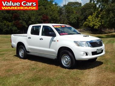 2015 Toyota Hilux 4WD 3.0TD DC UTE 5M