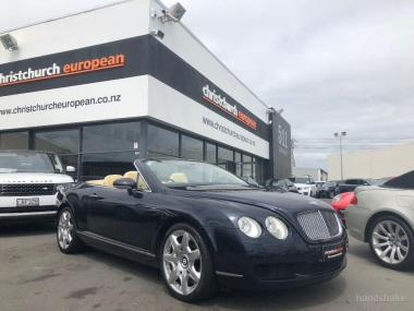 2008 Bentley GTC 6.0 W12 Mulliner Convertible