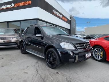 2006 MercedesBenz ML 63 6.2 V8 AMG 4WD Black Editi