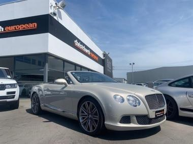 2014 Bentley Continental GTC Speed 6.0 W12 Mulline