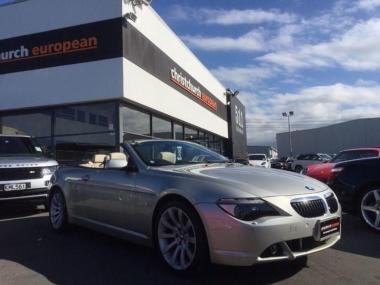 2006 BMW 650i 4.8 V8 4 Seater Convertible