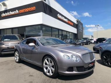 2012 Bentley Continental GT 6.0 W12 New Shape