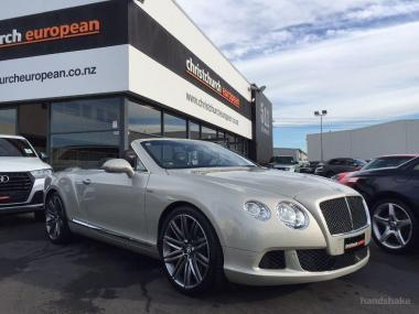 2014 Bentley GTC Speed 6.0 W12 Mulliner