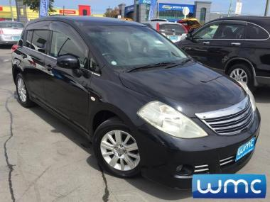 2008 Nissan Tiida Axis Leather Package