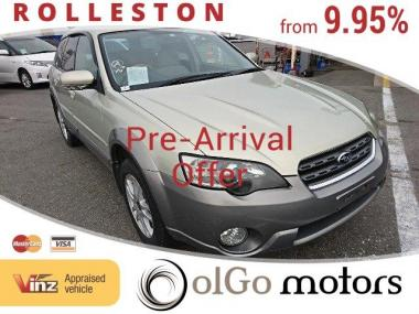 2004 Subaru Outback 2.5i 4WD Low KMs LL Bean