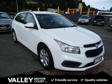 2016 Holden Cruze CD 1.8P/6AT/SW/5DR/5