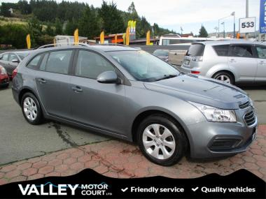 2017 Holden Cruze CD 1.8P/6AT/SW/5DR/5