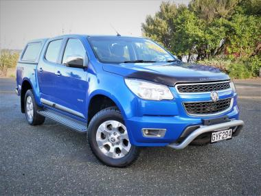 2013 HOLDEN COLORADO LTZ 4X4 2.8TD manual