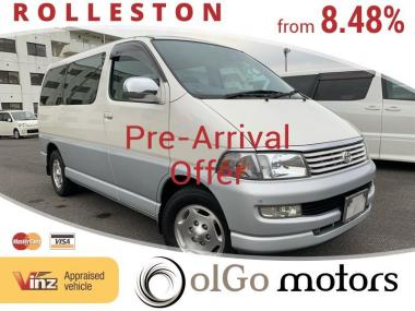 1998 Toyota Hiace 3.0 TD Low KMs Due Mid-JAN