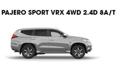 2021 Mitsubishi Pajero Sport VRX  latest model