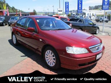 2003 FORD FALCON BA FAIRMONT 6C