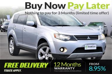 2008 Mitsubishi OUTLANDER 24MS, 2WD/4WD, 7Seater