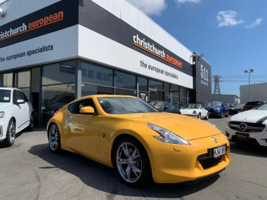 2010 Nissan 370Z Coupe 6 Spd Man NZ New