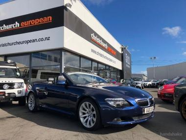 2009 BMW 650i 4.8 V8 Facelift Convertible