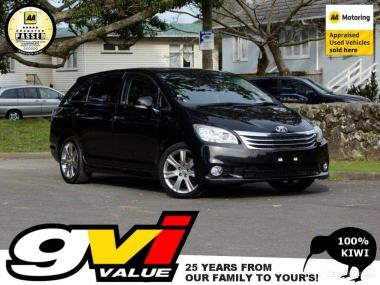 2009 Toyota Mark-X Zio * 7 Seat / Black Trim * No